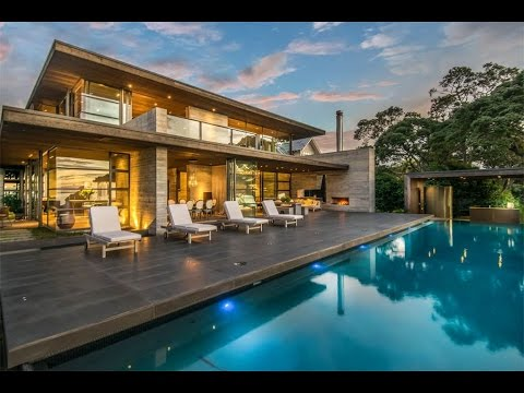 Exquisite and Timeless Waterfront in Auckland, New Zealand - Познавательные и прикольные видеоролики