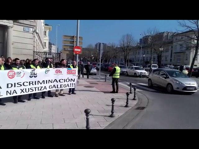 A oposición en bloque reclama que Rueda compareza pola folga do persoal de  Xustiza