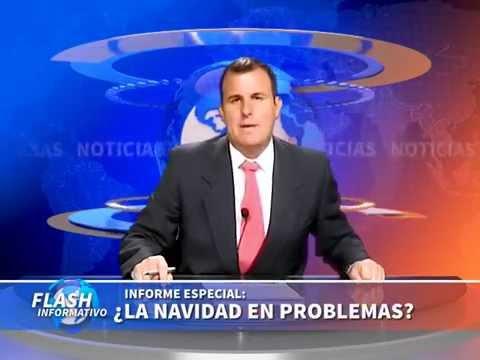 Flash de Noticias: ¿Dónde está Papá Noel?