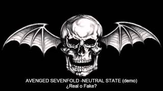 Avenged Sevenfold - Neutral Stage | DEMO 2016 | New Song / Nueva Canción