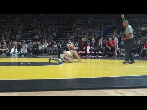 125 lbs Thomas Gilman, Iowa vs Jose Rodriguez, Ohio State