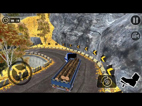 Offroad Cargo Truck Transport Driving Simulator 17 - Android Gameplay FHD