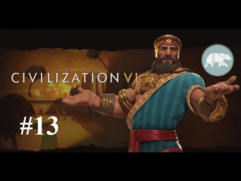Let's Play Sid Meier's Civilization 6 - Learning the ropes with the Bro #13