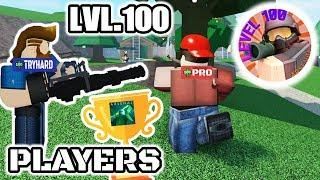 Arsenal Level 100 Turnier | ROBLOX (40$ Preis)