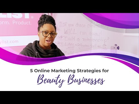 5 Online Marketing Strategies For Beauty Businesses