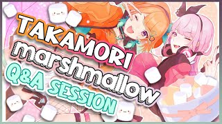 【COUPLE Q&A】#TAKAMORI Q&A with your MARSHMALLOWS!