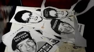 """Edward #Snowden """"Nerdic Party"""" Aktion Freiheit statt Angst @ Coop Anti-War Cafe Berlin June 5/6"""
