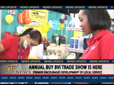 ANNUAL BUY BVI TRADE SHOW IS HERE