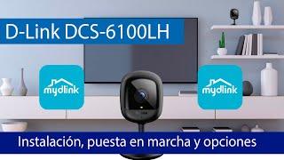 D-Link DCS-6100LH: Aprende a instalar y configurar esta cámara IP Cloud
