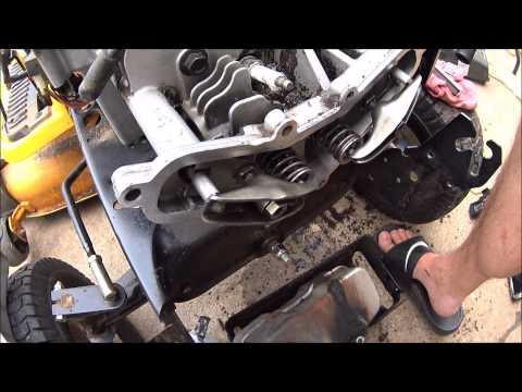 Kohler courage engine weak starter compression release valve