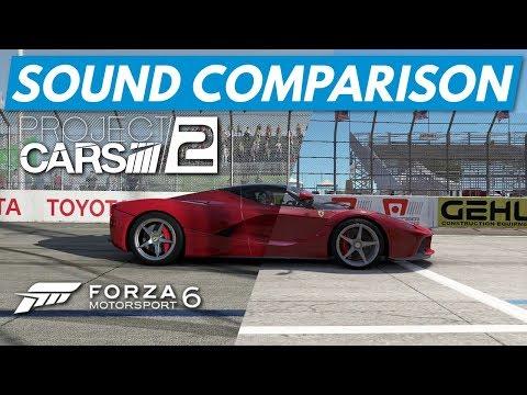 Sound Comparison: Project Cars 2 vs Forza Motorsport 6