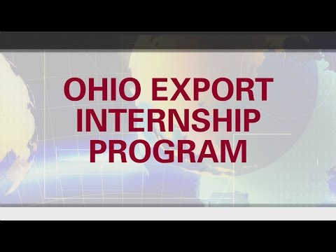 The Ohio Export Internship Program - Going Global