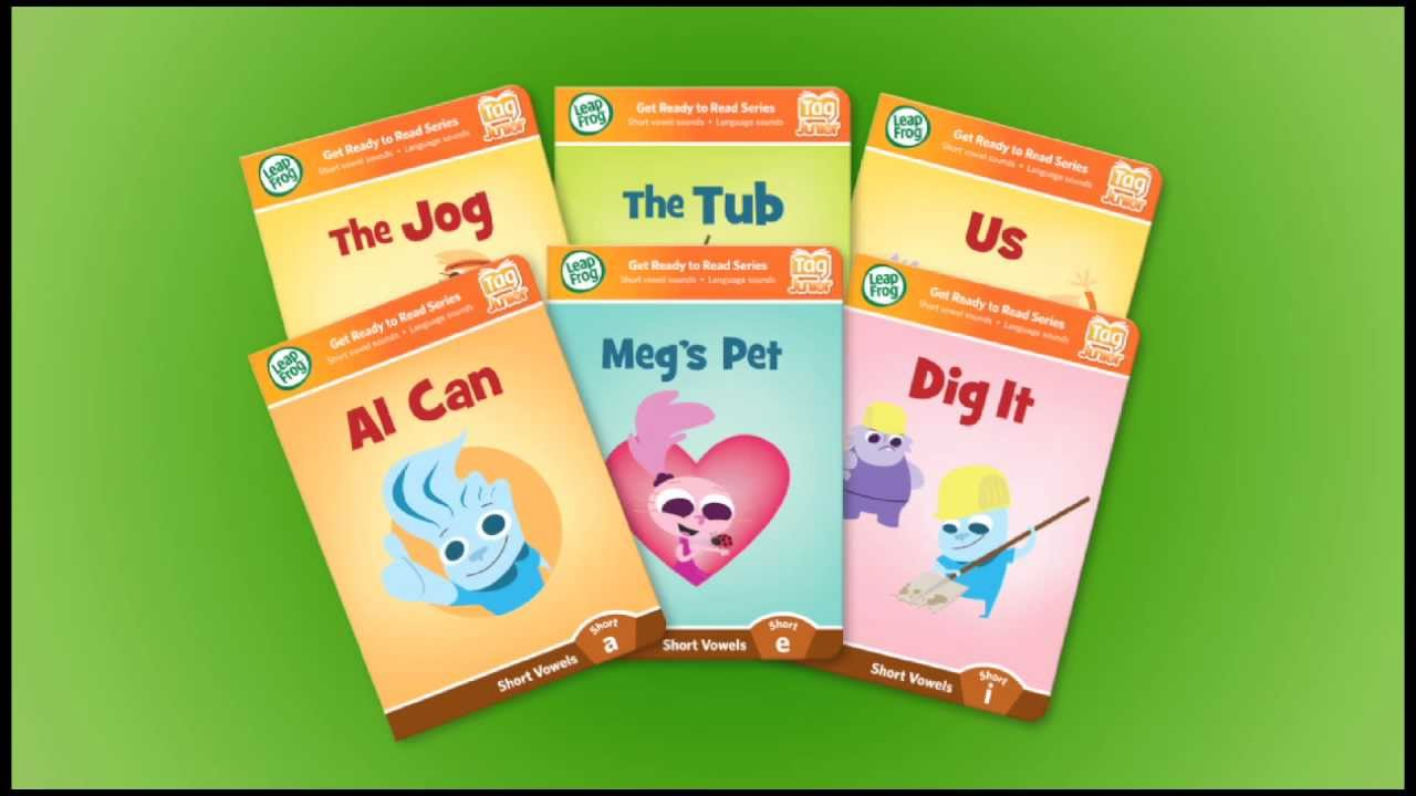 Leapfrog Tag Jr Book