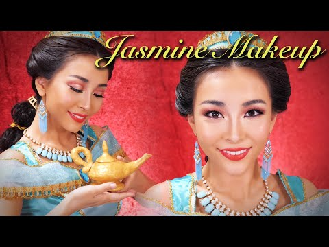 ジャスミンメイク【実写版アラジン】Princess Jasmine Makeup Disney's Aladdin🕌✨ thumbnail