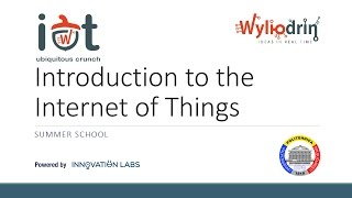 Lecture 1: Introduction to the Internet of Things thumbnail