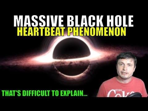 Massive Black Hole Heartbeat Phenomenon Found Again - Still Makes no Sense