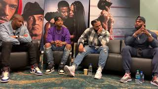 Michael B. Jordan an Cast of CREED 2 at ComplexCon Part 3