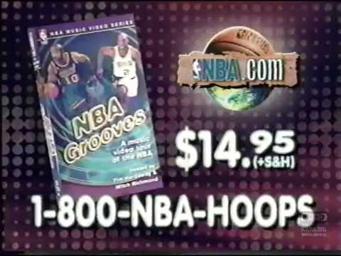 NBA Grooves | VHS | Television Commercial | 1997