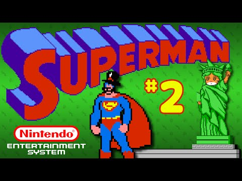 Superman (NES) - Part 2: Cactus Head - Octotiggy