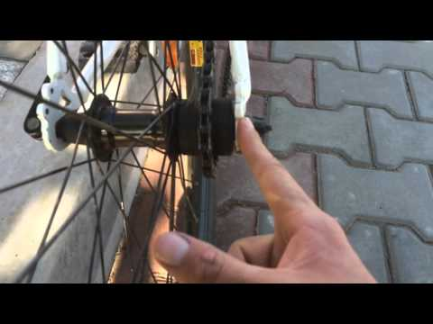 Как определить линию цепи для односкоростного велосипеда