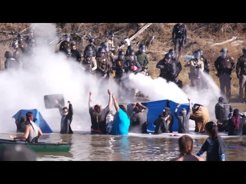 Standing Rock Protectors BRUTALIZED By Cops In Standoff