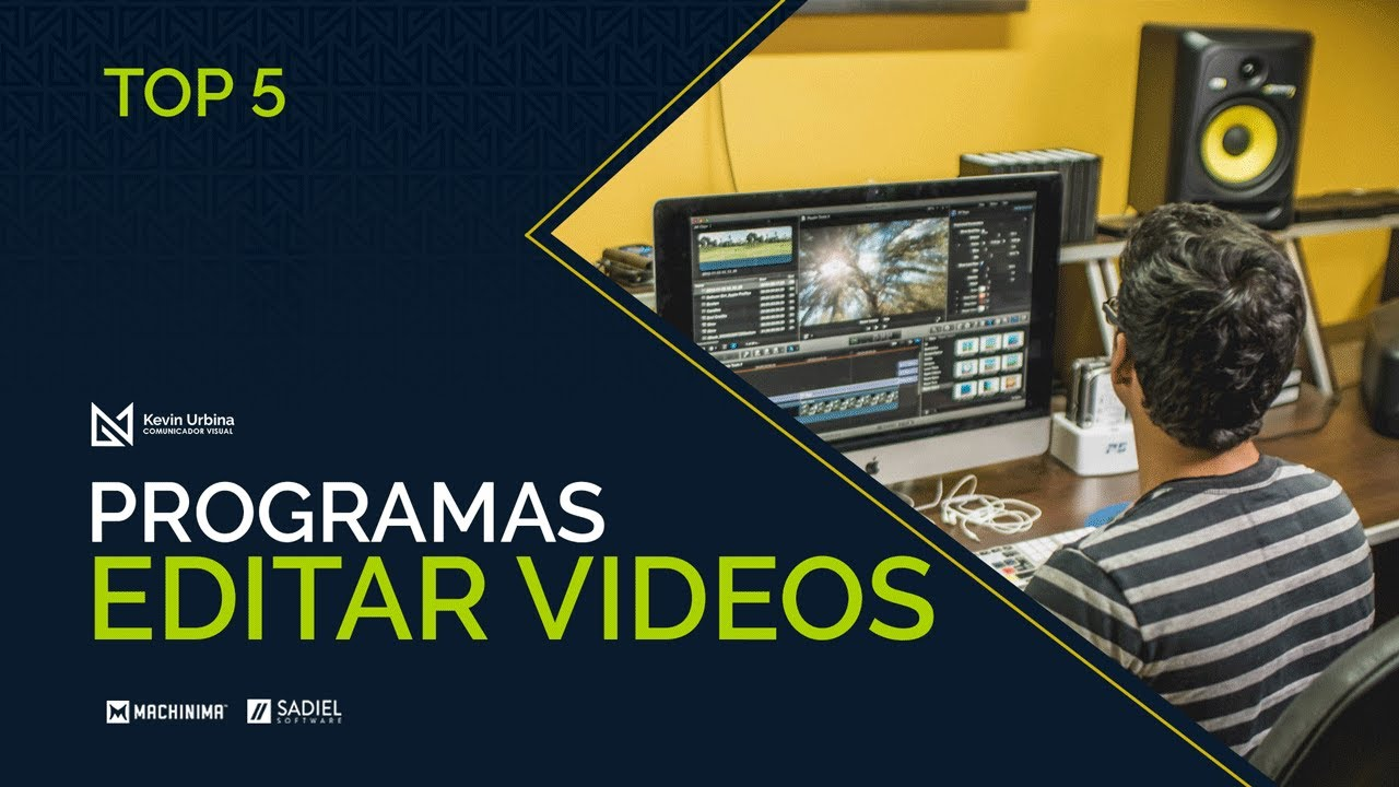 Top 5 los mejores programas para editar videos youtube - Para disenar fotos ...