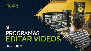 TOP 5: Los mejores Programas para Editar videos