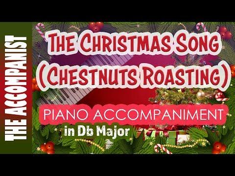 The Christmas Song (Chestnuts Roasting) - Nat King Cole - Piano Accompaniment - Karaoke