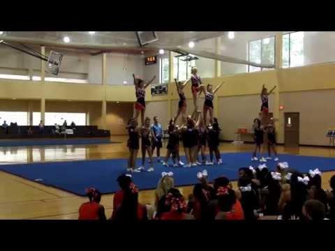 Franklin Parish High School Cheerleaders Summer Camp 2015