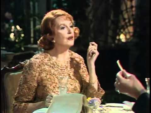 Deborah Kerr & Paul Scofield 1982 fragment 1 (dinner scene)