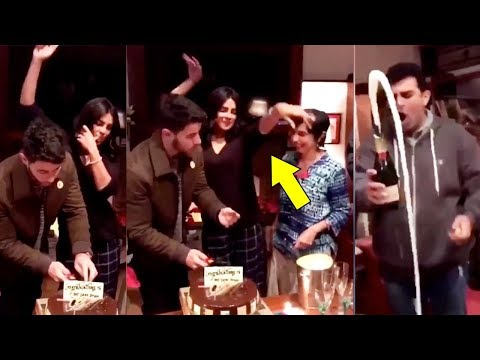 Priyanka Chopra Romantically Feeds Cake To BF Nick Jonas Before Marriage At House Party