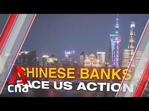 3 Large Chinese Banks Could Lose Access To US Financial System