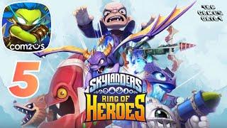 SKYLANDERS RING OF HEROES - NEW FREE GAME - iOS | ANDROID - Gameplay Walkthrough Part 5