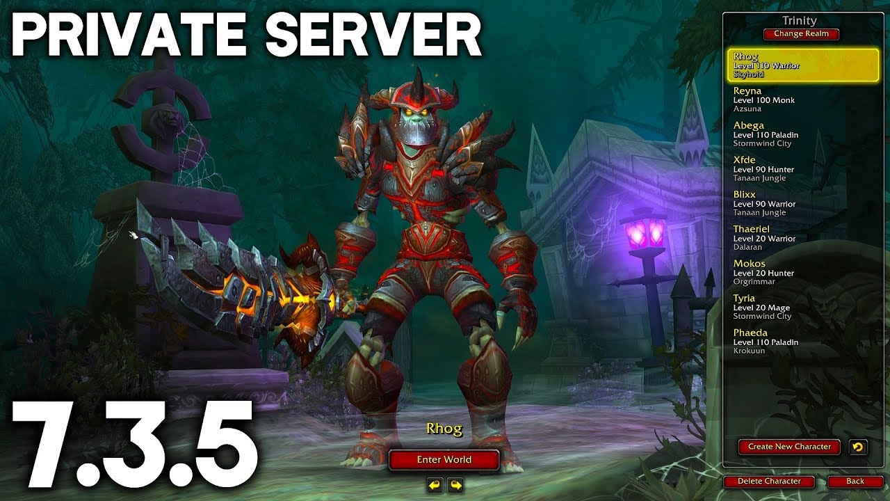 How To Make a WoW Legion 7 3 5 Private Server