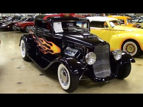 700 HP Supercharged 1932 Ford Coupe 392 Hemi V8 Hot Rod
