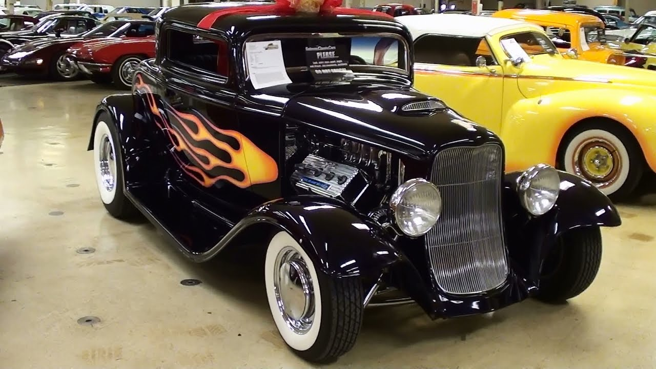 700 HP Supercharged 1932 Ford Coupe 392 Hemi V8 Hot Rod - YouTube