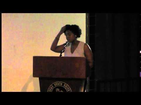 KSU Hosts Rhodes Scholar Rhiana Gunn-Wright