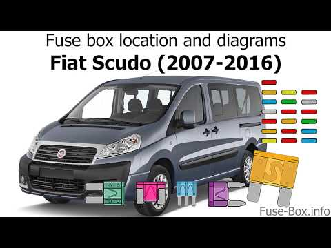 Fuse box location and diagrams: Fiat Scudo (2007-2016) - YouTubeYouTube