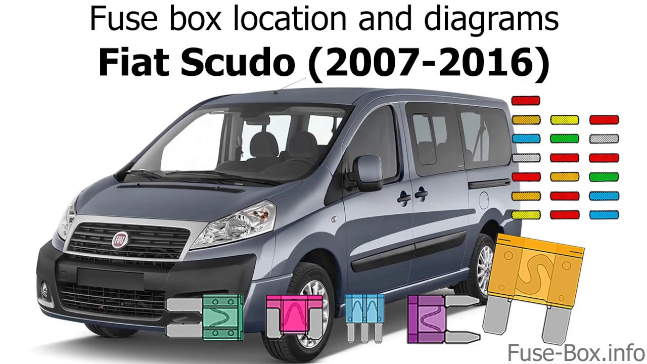 fuse box location and diagrams fiat scudo 2007 2016 youtube fuse box fiat scudo van fuse box fiat scudo van [ 1280 x 720 Pixel ]