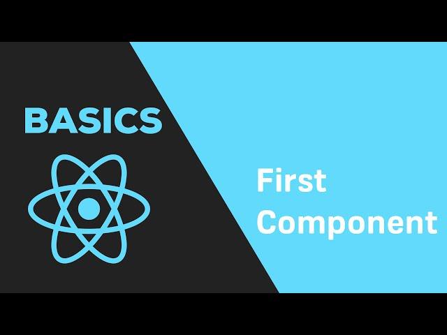 ReactJS Basics - #3 First Component