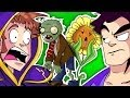 Tobuscus Animated Adventures Plants Vs. Zombies 2-parter! video