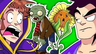Repeat youtube video TOBUSCUS ANIMATED ADVENTURES Plants vs. Zombies 2-Parter!