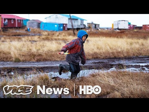 Climate Change Is Making This Alaskan Town Fall Into The Ocean (HBO)
