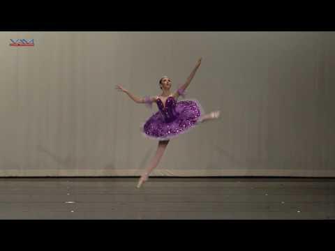 YAGP Semi Finals San Diego 2016 Lilac Fairy Variation Sleeping Beauty -Savannah Lee 14 years old