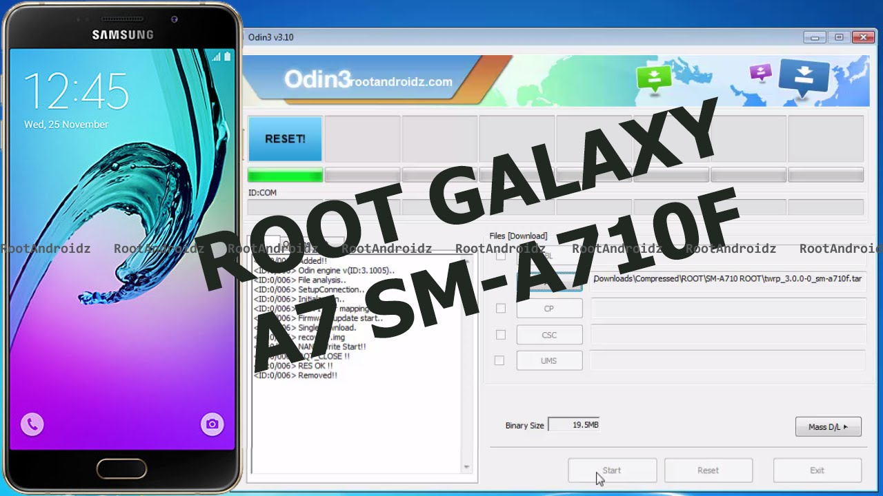 How To Root Galaxy A7 [SM-A710F/FD/Y/M]