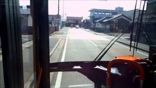 神姫バス JR網干駅~東大津~製鉄記念広畑病院線 前面展望