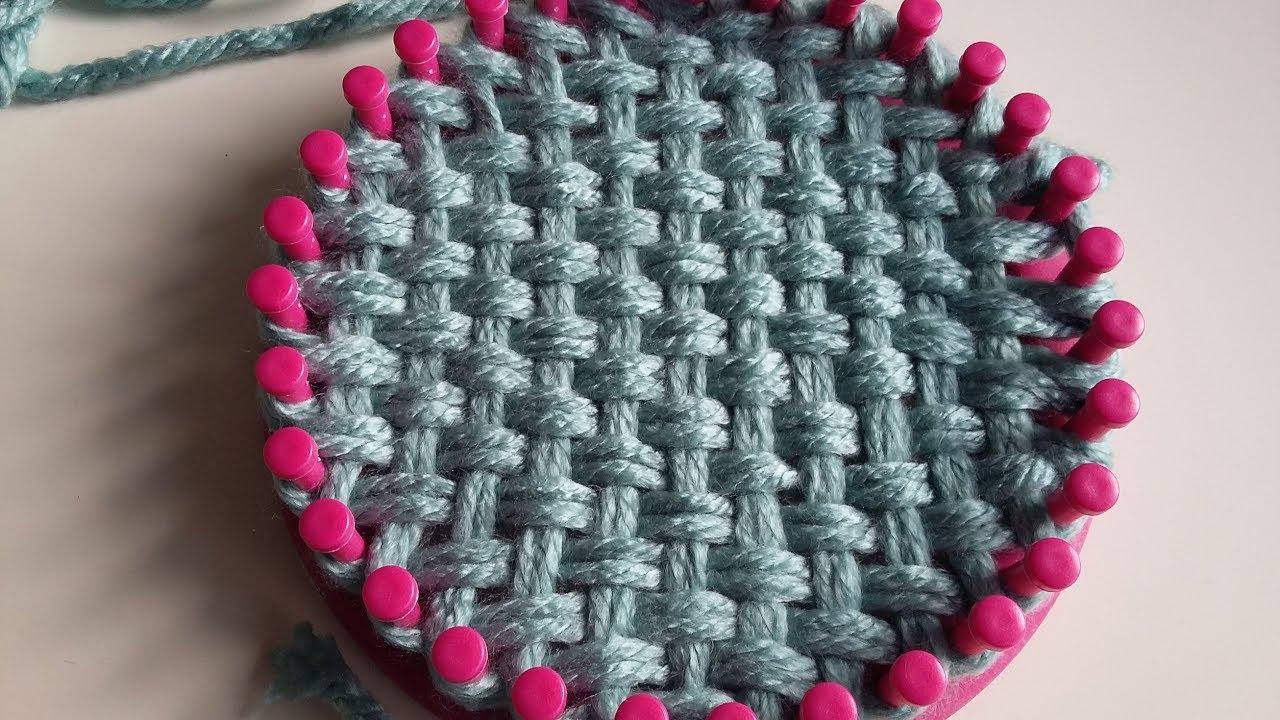 Extrêmement Bulles de Plume - Tressage au tricotin circulaire 31 picots - YouTube EH41