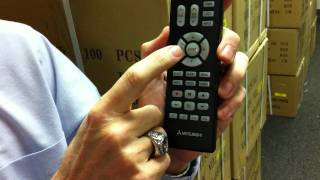 The Original Mitsubishi TV Remote Control