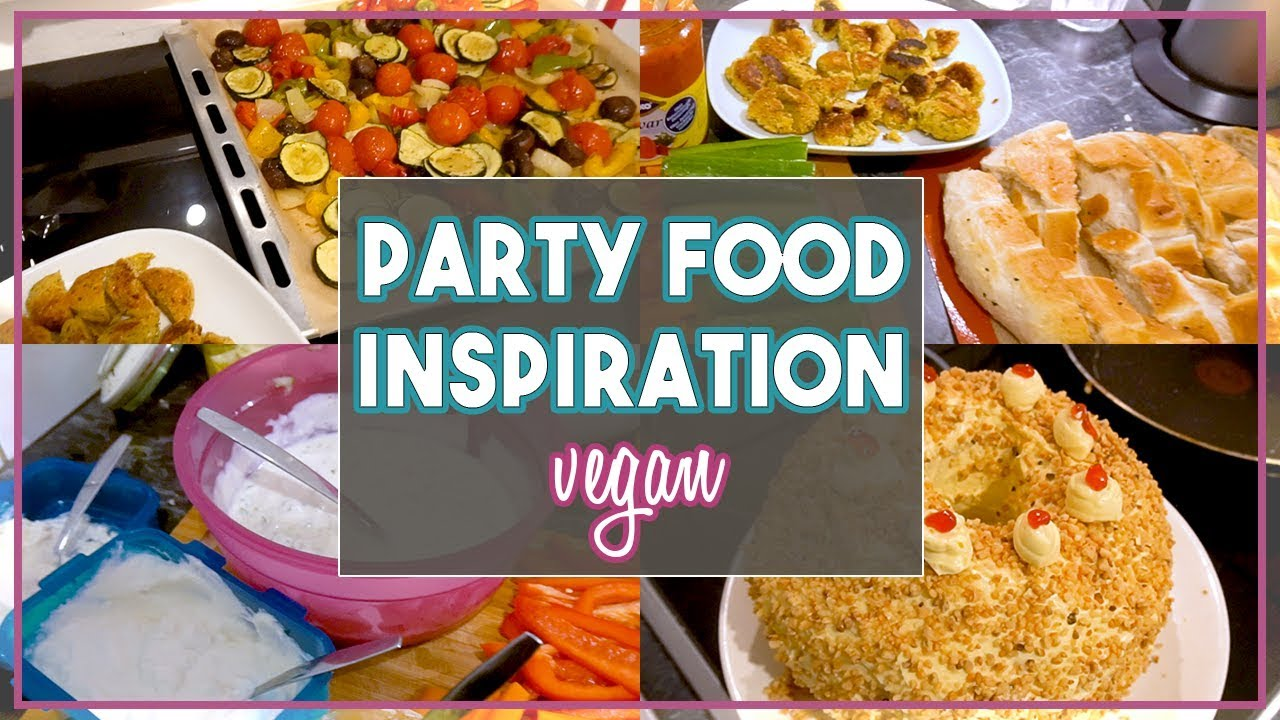 vegane party snacks einfach gut vorzubereiten finger food inspiration youtube. Black Bedroom Furniture Sets. Home Design Ideas