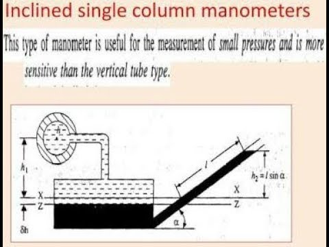 SINGLE COLUMN MANOMETER ( INCLINED TYPE) - YouTube on centrifuge diagram, plug diagram, filter diagram, viscometer diagram, pipe diagram, piezometer diagram, altimeter diagram, mixture diagram, transducer diagram, anemometer diagram, retort stand diagram, model diagram, steam generator diagram, regulator diagram, burner diagram, barometer diagram, voltmeter diagram, turbidity meter diagram, scale diagram, switch diagram,